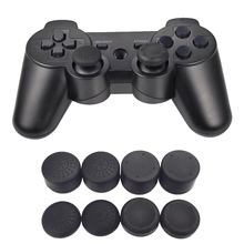 Bevigac 8Pcs Heightened Soft Silicone Anti-Slip Thumb Grip Stick Cap Cover Case Skin for Sony PlayStation 4 PS 4 PS4 Accessory(China)