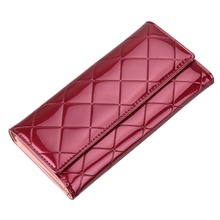 Fashion Women Wallets Brand Designer Party Long Clutch Purse Lady Vintage Plaid Wallet Female Card Holder Purses Women Carteira