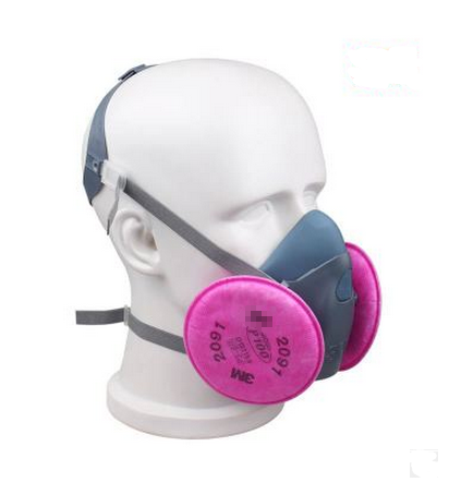 Sell like hot cakes respirator dust maskIIIM7502 dust mask with 2097 respirator filter blue mask industrial safety<br><br>Aliexpress