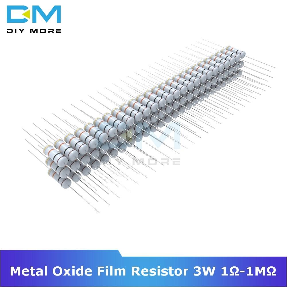 1 watt 5/% metal oxide power resistors 6.8K ohm 5 pack