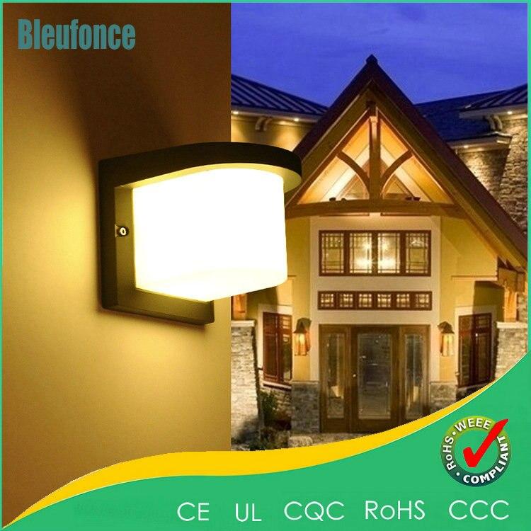 Waterproof Outdoor Wall Light 10W LED Wall Lamp Aisle Balcony Sconce Villa Lawn Garden Wall Lamp indoor Light AC85-265V Lighting<br><br>Aliexpress