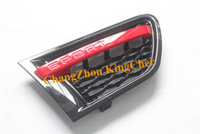 2 PCS Black and red side vent grille mesh grill Suitable for Land Rover Range Rover Sport 2010 2011 2012