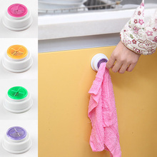 1Pc Wash Cloth Clip Holder Clip Dishclout Storage Rack Towel Clips Hooks Bath Room Storage Hand Towel Rack kitchen Tools(China)