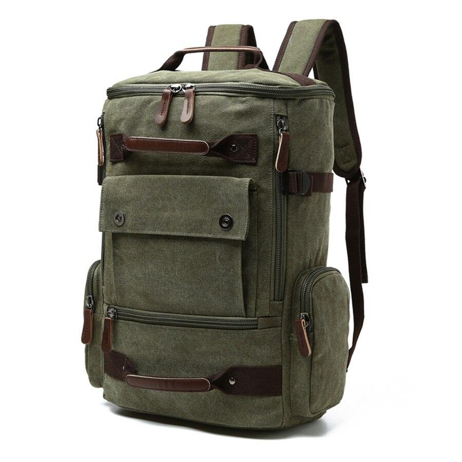 MR.YLLS Camouflage Backpack Men Canvas Travel Bag Male Brand  Backpacks High Capacity Laptop Backpack Solid Color Black Bag 2017<br>
