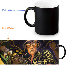 Fear, and Loathing in Las Vegas Colour Change Morphing Mug Heat Sensitive Magic Morph Coffee Mugs 350ml/12oz