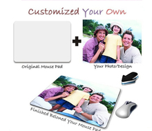 custom mouse pad locked edge mousepads best gaming mouse pad gamer padmouse High-end large personalized mouse pads keyboard pad(China)