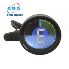 New Arrival ET-39 360degree Mini Electric Clip on Chromatic Bass Guitar Ukulele Violin Tuner(China)
