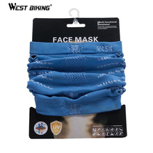 WEST BIKING Multifunction Magic Face Mask Protection Face Scarf Outdoor Sport Riding Hiking Bike Bicycle Cycling Face Mask(China)