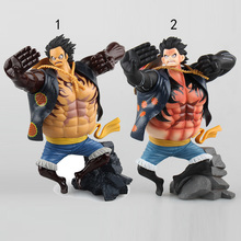 New Arrival 2 Style Anime One Piece Figure Toy Gear 4 Luffy PVC Action Figure Toy Cool Model for Collection Free Shipping
