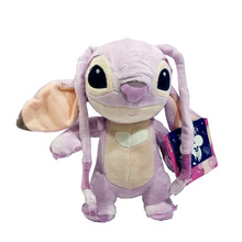 New Lilo and Stitch Girlfriend Angel Plush Purple 22cm Kids Toys Pelucia Cute Stuffed Animals Soft Dolls For Girls Gift