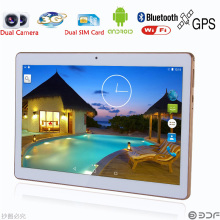 Stylish and cheap 10 inch Original Dual sim card Android 4.4 Quad Core CE Brand 3G Phone Call laptop WiFi  new Tablet pc tablet