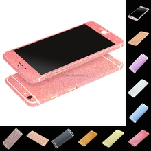 Full Body Glitter Bling Sticker For iPhone 6S Plus Strass Coque Luxury Skin Cover Case For iPhone 6 Plus Funda