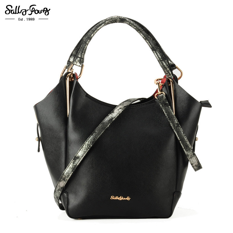 2017  International Brand Half Moon Tote Fashion Women Bag Solid Lady Shoulder Handbags Trapeze<br><br>Aliexpress