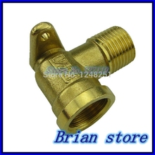 "1/2"" Female -1/2"" Male inch BSP Thread Dia 20mm With Mount Base Elbow Brass Fitting Coupler Connector Adapter 232psi +BMFL"