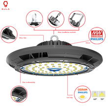 Buy Waterproof IP65 UFO Lamp 22500LM 5 Years Warranty 150W Factory Warehouse Workshop Mining Supermarket Led High Bay Light for $198.45 in AliExpress store