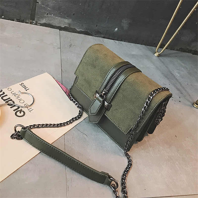Korean Fashion PU Leather Small Flap Women Crossbody Bag Ulzzang Chain Messenger Shoulder Bag Lady Handbags Free Shipping <br>