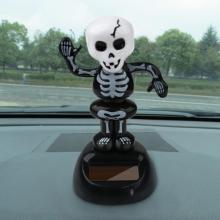 2017 Newest Arrival Solar Powered Dancing Halloween Swinging Animated Bobble Dancer Toy Car Decor Car Interior Accessories