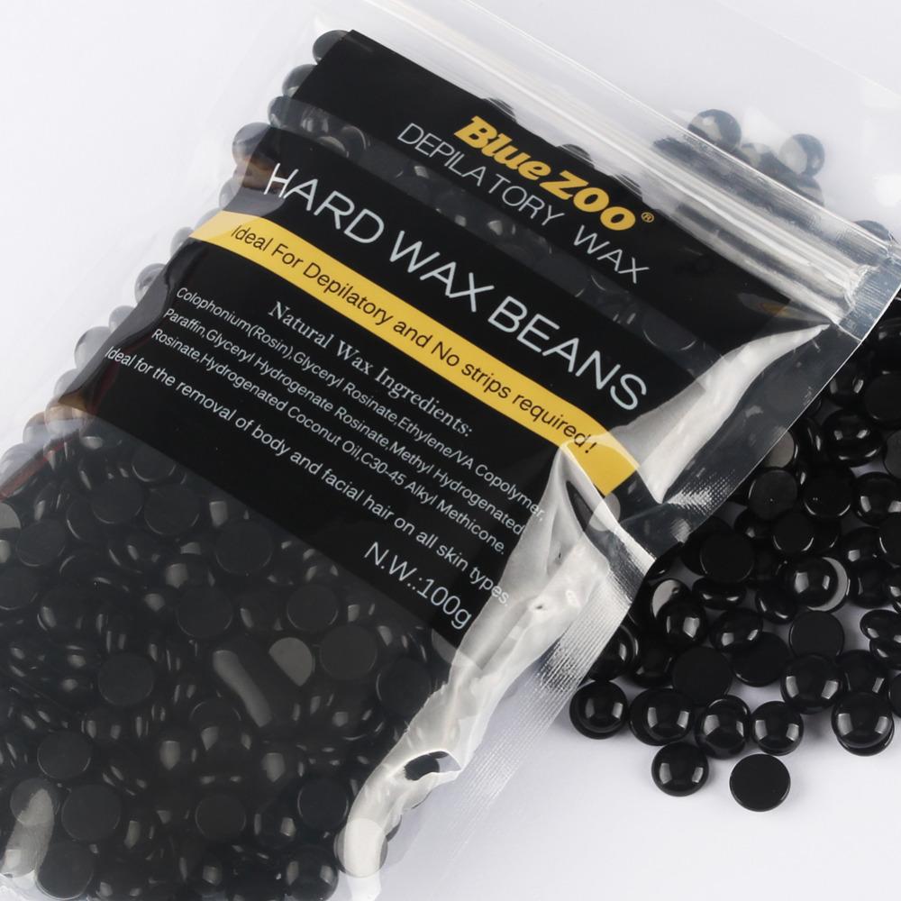 Waxing Kit Depilatory 500CC Hot Wax Hair Removal Machine and Hard Wax Beans 100g Pearl Wax Painless Depilacion Facial Body 12
