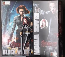 "Crazy Toys Marvel The Avengers 2 Black Widow PVC Action Figure Collection Model Toy 7"" 18CM"