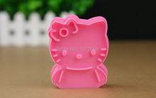 Hello Kitty Cookie Cutters Sugar Fondant Cake Mold Baking Tools 5pcs Free china post