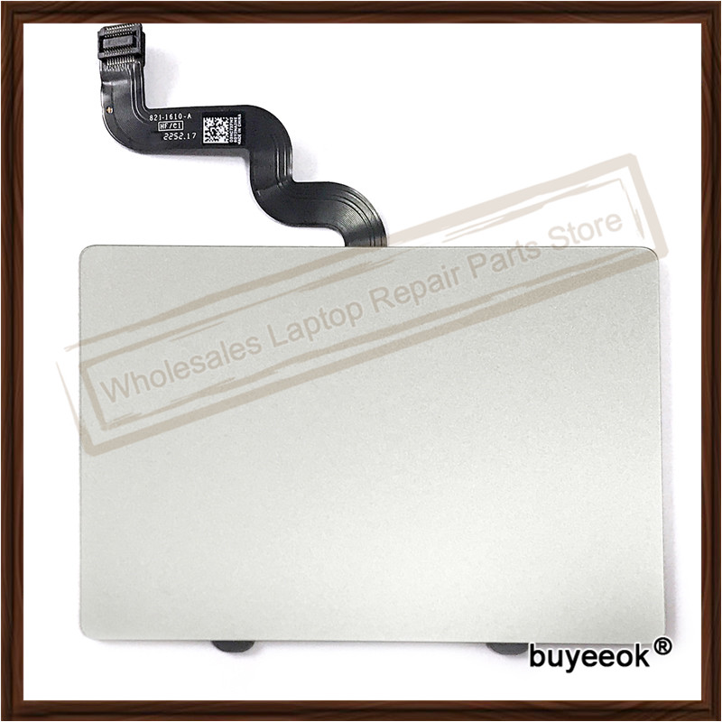 Original A1398 Touchpad with Flex Cable For Macbook Pro 15 A1398 2012 Retina 821-1610-A Trackpad Touch Pad Replacement<br>