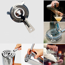 1Pc Special Offer Useful Cocktail Shaker Bar Ice Strainer Wire Mixed Drink Stainless Steel Bartender Bar Accessories NXH1981(China)