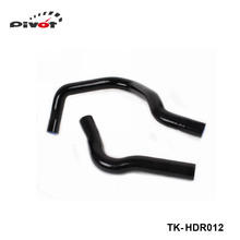 Tansky-Racing Turbo Intercooler Radiator pipping silicone hose Kit For Honda Civic EG4 B16A (2pcs) TK-HDR012