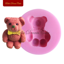 Baby Bear Style Silicone Mould for Cake Decorating Chocolate Baby Birthday Cake Tool Sugarcraft Candle Molds Bakeware SM-234(China)