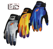 wholesale BMX XC DH FR bicycle MOTO motorcycle full finger long finger protective gloves 10 pairs/lot