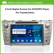Car DVD/GPS player FOR Toyota Camry 2008-2011 With GPS Navi Radio Bluetooth TV(option) Ipod Free Map(China)