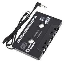 Universal Black Audio Car Cassette Tape Adapter Transmitters Converter FOR MP3 CD MD DVD For Clear Sound Music
