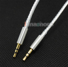 1.5m Silver Plated OCC Upgrade Talkback Cable for Turtle Beach X11 DX11 PX21 X12 PX3 DPX21 XL1 headphone LN004352
