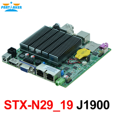 12*12 Bay trail Motherboard Dual Lan Quad Core Mainboard Fanless Dual ethernet port mini pc nano motherboard with J1900