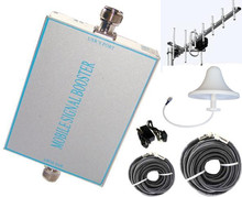 800sq.m GSM 850 MHz Mobile Cell Phone Signal Booster,TE-8070 CDMA 800 Cellular Repeater Amplifier+Yagi+Dome Antenna+7D-FB Cable