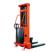 Lifting Height 3m Semi-Electric Stacker Carrying Capacity 1000kg Manufacturer Supply With CE Certification