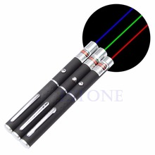 1Pc Powerful Red Purple Green Laser Pointer Pen Visible Beam Light 5mW Lazer 650nm for Teaching & Presentation High Quality C26