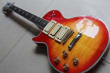 New Arrival Cnbald Custom Ace frehley signature electric guitar In Left Handed Cherry Burst 120818(China)