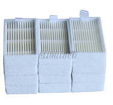 12pcs Vacuum Cleaner Filters HEPA Filter for ECOVACS CR130 cr120 CEN540 CEN250 ML009 CHUWI V3 iLife V5 V3+ V5PRO Cleaner Parts(China)