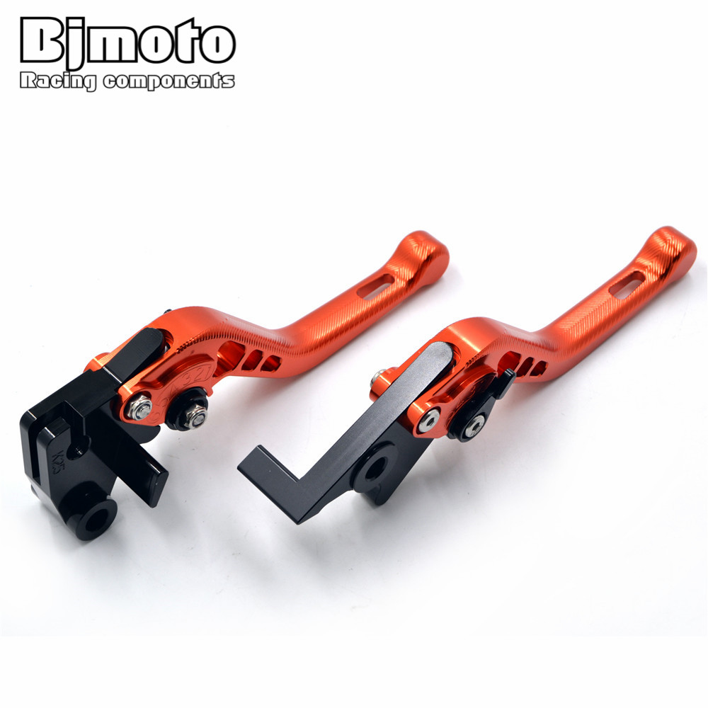 New Style Motorcycle CNC 3D Adjustable Short  Brake Clutch Levers For KTM 990 1290 SuperDuke  690 Duke RC8 / R<br>