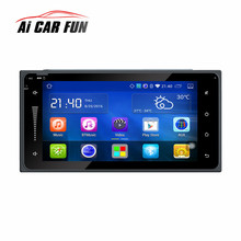 7 inch 2 din Car Radio Stereo Bluetooth Android 5.1 RM-TYT07 1024 *600 HD Capacitive Touch Screen GPS Navigation 2017(China)