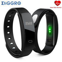 Buy Diggro QS80 Smart Bracelet Blood Pressure Wristband Heart Rate Fitness Tracker Waterproof Smart Band Android iOS pk miband for $15.99 in AliExpress store