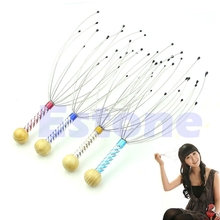 1Pc Practical Comfortable Head Stress Relax Tool Scalp Massager Massage -B118(China)