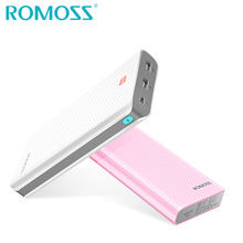 Original ROMOSS Powerbank 20000mAh Sense6 LED Backup Battery Pack 18650 Power Bank Box External Phone Charger with Hidden LED