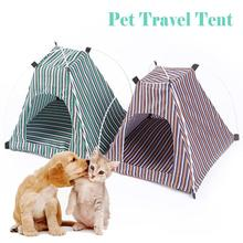 Waterproof Portable Folding Pet Products Dog House Pet Sleeping Tent Dog Kennel Cat Pet House Bed Kennel Cage Gift #35