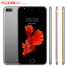 Original A7 Plus Mobile Phone 5.5 inch 13MP camera Smartphone MTK6580 Quad Core telephone Android 5.1 Cell Phone GSM/WCDMA 3G