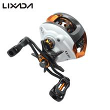 Lixada 12+1 Ball Bearings Fly Fishing Reel Baitcasting Reel High Speed with Magnetic Brake System for molinetes e carretilhas(China)