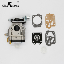 KELKONG 2pcs/lot 47cc 49cc 50cc 52cc 2-Stroke Carburetor Mini Carb 15mm ATVs Pocket Bikes Quad GAS SCOOTER POCKET MINI BIKE(China)