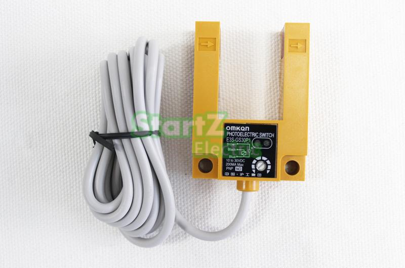 E3S-GS30E4 groove photoelectric switch  three-wire  NPN NO    normally open DC 6-36V 30cm distance<br><br>Aliexpress