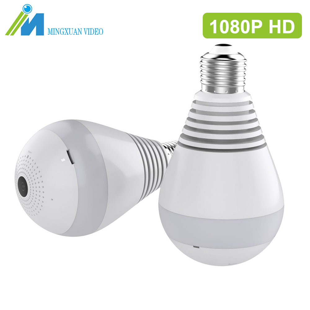 MX Wifi Camera 1080P HD Bulb home IP Camera Wi-fi Video Surveillance Night Security Camera Baby Monitor Light Bulb Home Security<br>