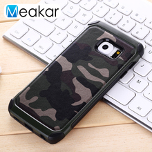 Camouflage Military Phone Case 5.1For Samsung Galaxy S6 Edge Case For Samsung Galaxy S6 Edge S6Edge Cell Phone Back Cover Case